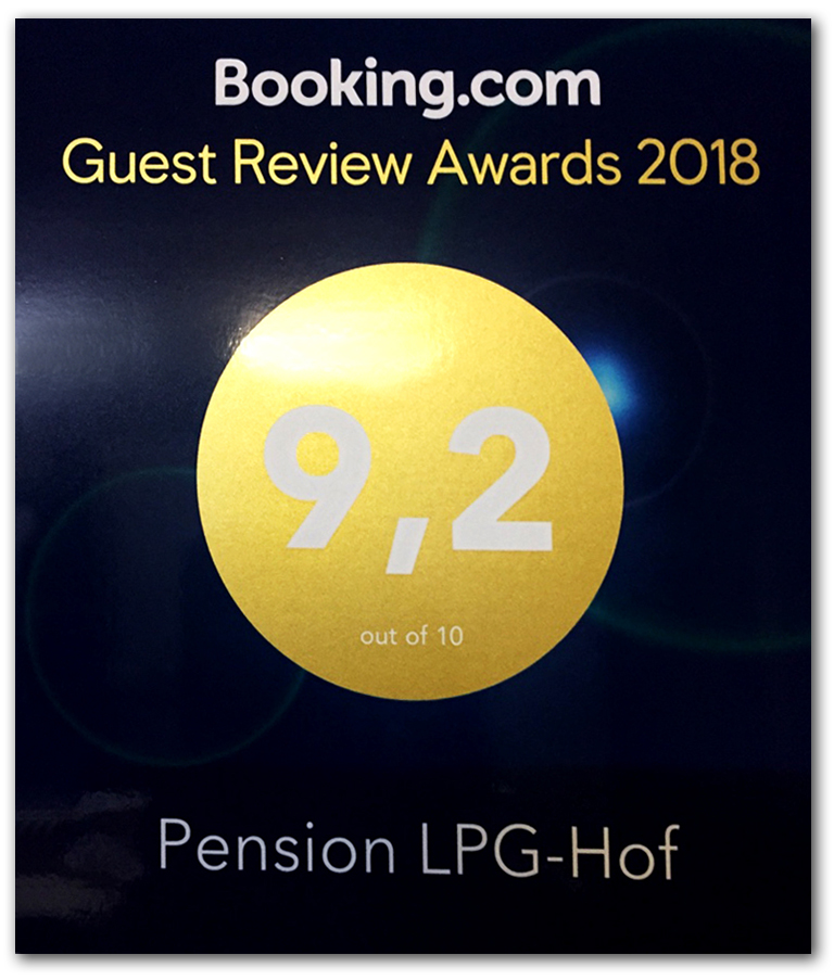 Booking Guest Review Adward 2018